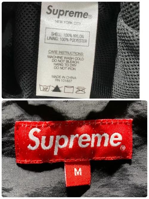 Supreme 18ss Corner Arc Logo Half Zip Pullover Mサイズシュプリーム コーナーアーチロゴポロシャツ ブラックブランド古着南堀江