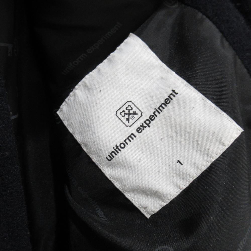 "UNIFORM EXPERIMENT / ユニフォームエクスペリメント 12aw ""SHORT DUFFLE BLOUSON"" ショート ダッフル ブルゾン 1 ブランド 古着 ブランド古着 【中古】"