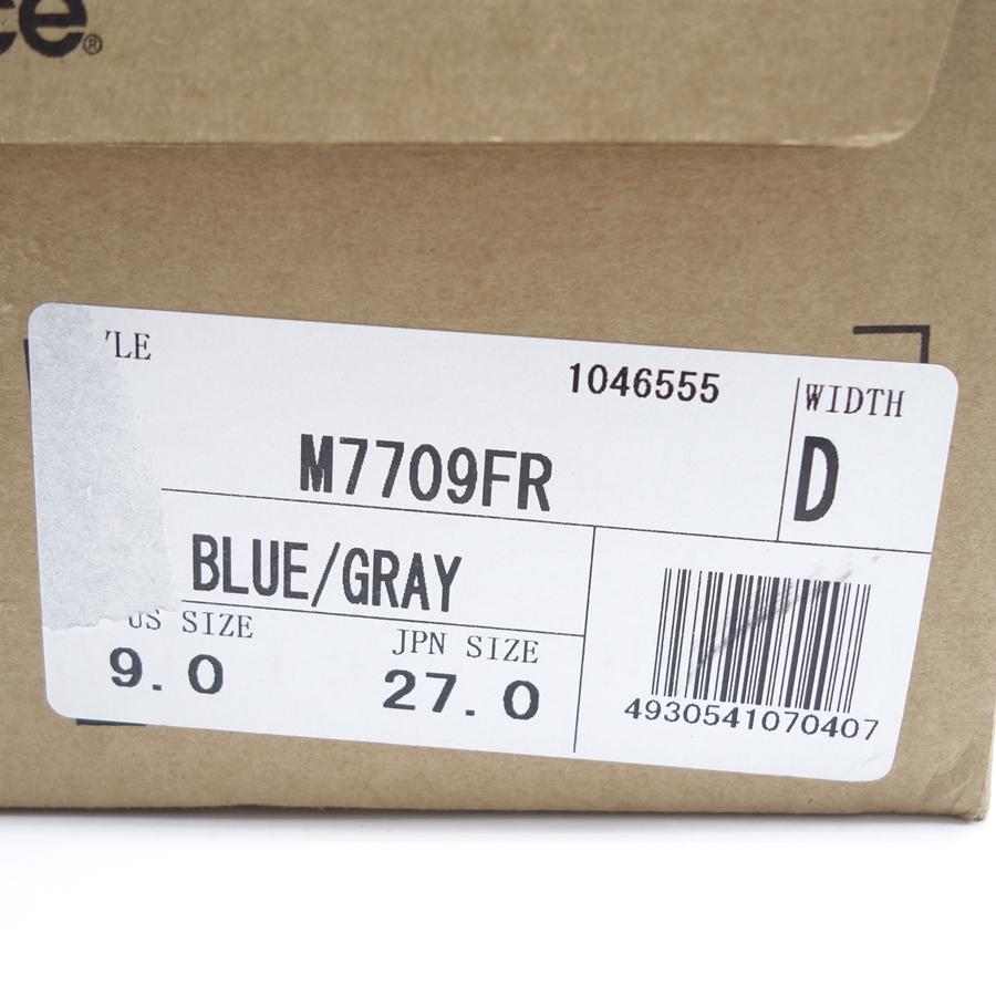 NEW BALANCE M7709FR BLUE/GRAY ニューバランス スニーカー 27 大名店【中古】