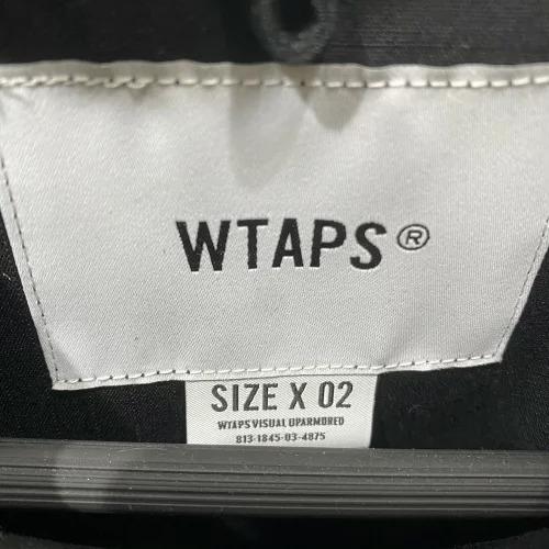 WTAPS 21ss JUNGLE 02 LS/COTTON.RIPSTOP M ダブルタップスジャングル長袖ミリタリーシャツ 南堀江