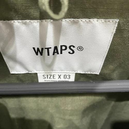 WTAPS 21ss JUNGLE 02 LS/COTTON.RIPSTOP L ダブルタップスジャングル長袖ミリタリーシャツ 南堀江