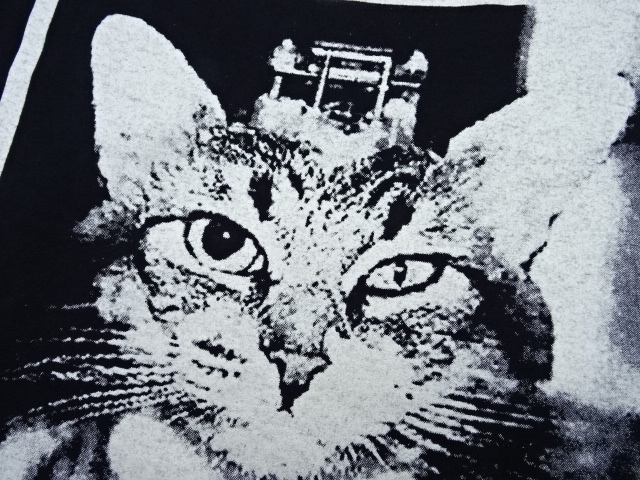 VINTAGE 90s OLD GHOSTS FUCK THE ANIMALS WHO FUCK WITH ANIMALS TEE  大名店【中古】