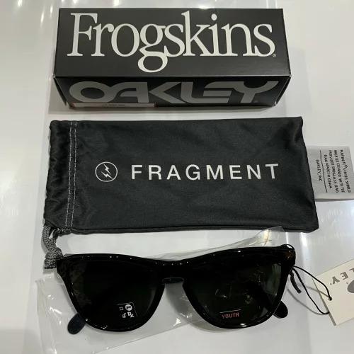 OAKLEY 20aw FRAGMENT FROGSKINS XS オークリー フラグメントデザインフロッグスキンサングラス 心斎橋