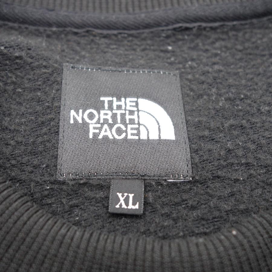 THE NORTH FACE BIG CREW ザノースフェイス クルーネック スウェット ロゴ 刺繍 SIZE-XL 大名店【中古】
