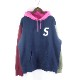SUPREME 19ss S Logo Colorblocked Hooded Sweatshirt シュプリーム カラー パーカ 大名店 【中古】