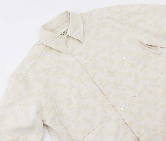 THE SHINZONE シンゾーン レディース リーフジャガードシャツ[21MMSBL01]【2021SS】