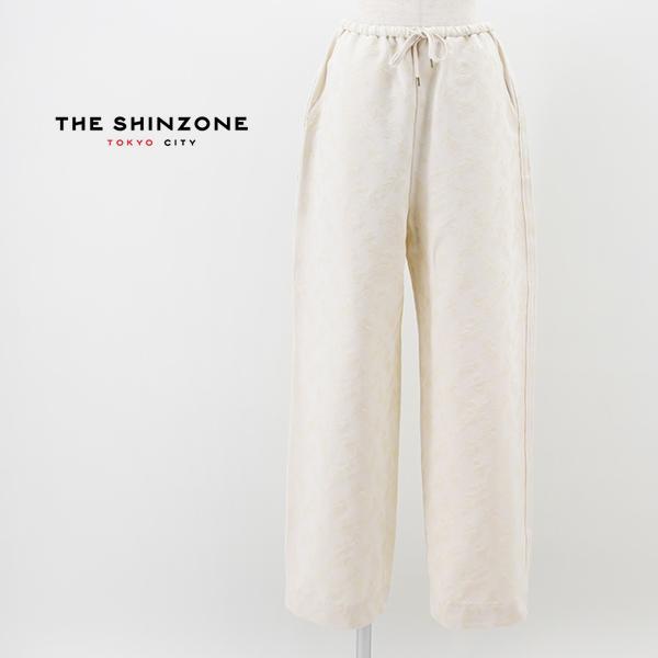 THE SHINZONE シンゾーン レディース リーフジャガードパンツ[21MMSPA04]【2021SS】