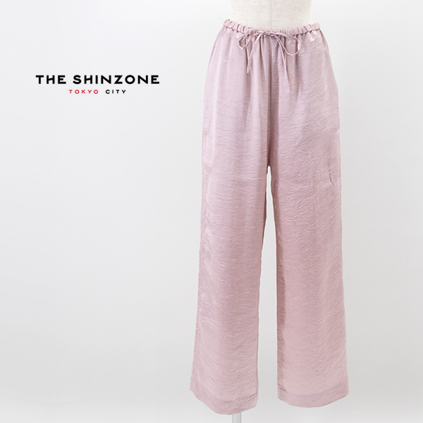 THE SHINZONE シンゾーン レディース サテンパンツ[21MMSPA11]【2021SS】