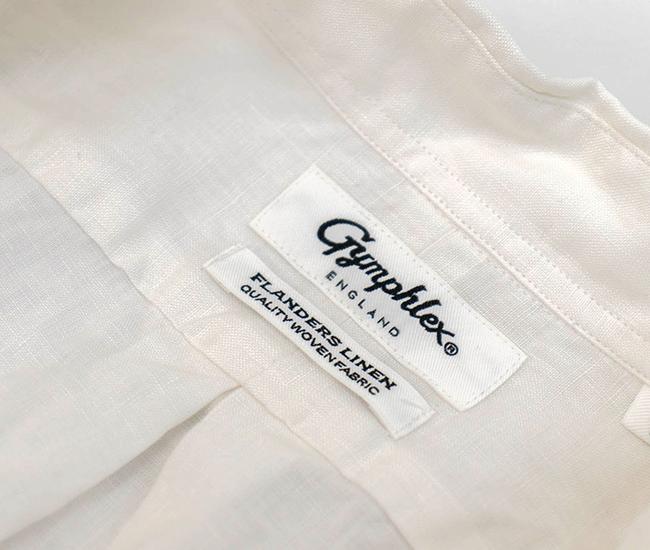 Gymphlex ジムフレックス メンズ リネンBDシャツL/S[J-0643KLS]【BASIC】
