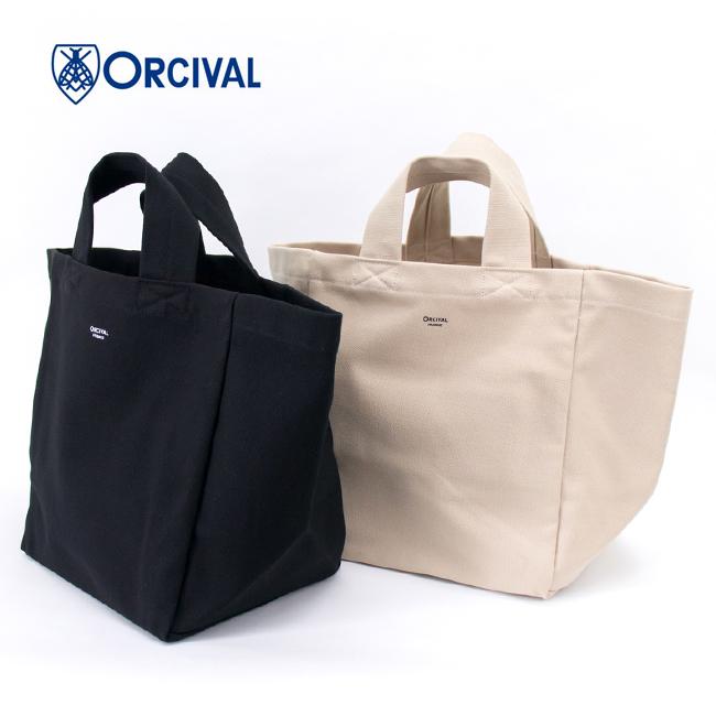 ORCIVAL オーシバル キャンバス トートバッグ[OR-H0018CVS]【2021FW】