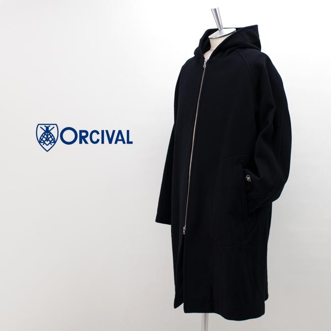 ORCIVAL オーシバル メンズ ジップフーデッドコート[RC-8017NLM]【2019FW】