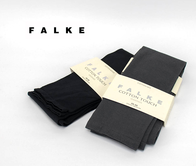 FALKE ファルケ COTTON TOUCH コットンレギンス[40084]【BASIC】
