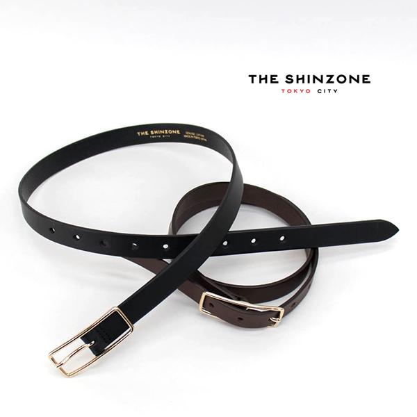 THE SHINZONE シンゾーン スレンダー レザーベルト[15AMSIT55]【BASIC】