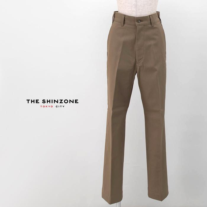 THE SHINZONE シンゾーン レディース ハイウエストチノパンツ[20SMSPA58]【BASIC】