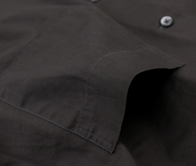 Gymphlex ジムフレックス メンズ ワイドボタンダウンシャツ[GY-B0012BIT]【2021FW】