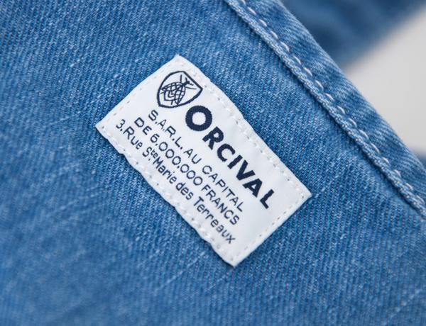 ORCIVAL オーシバル デニムトートバッグ L[RC-7104HDN/DNH]【BASIC】