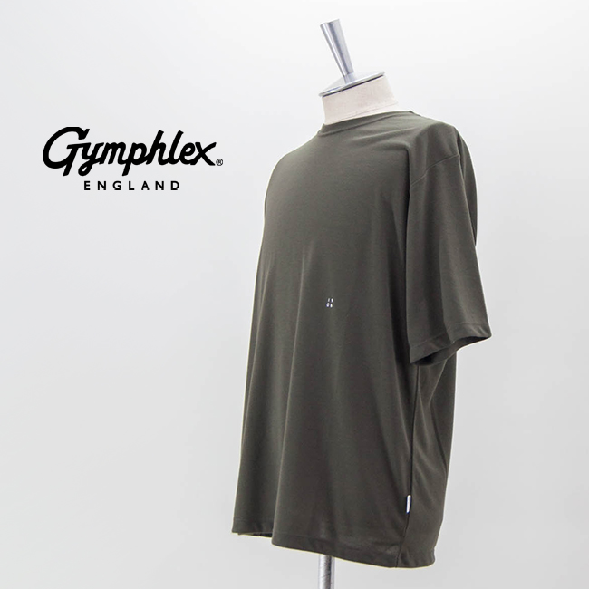 【SALE 40%OFF】Gymphlex ジムフレックス メンズ RECYCLE PE JERSEY Tシャツ[J-9277RCP]【2021SS】【返品交換不可】