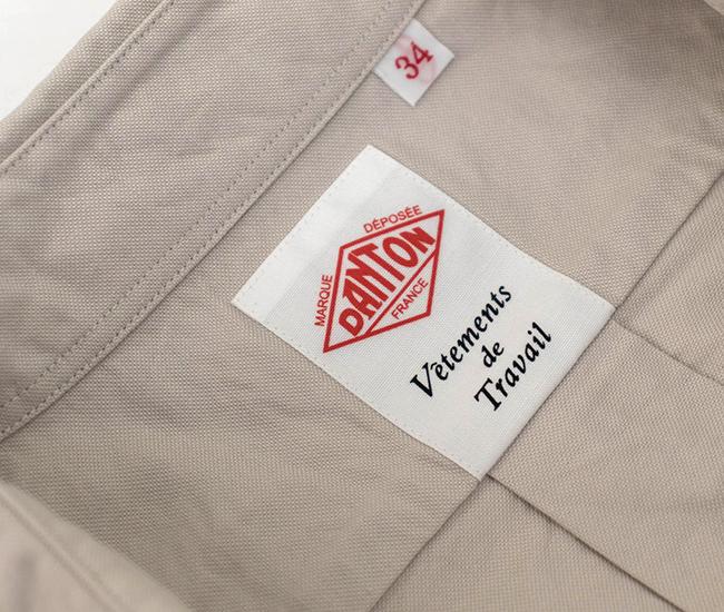 DANTON ダントン レディース オックスフォード ラウンドカラープルオーバーシャツ[JD-3564YOX]【BASIC】