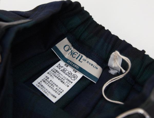 O'NEIL OF DUBLIN オネイル/オニールオブダブリン キッズ キルトスカート[500ABL]【FW】