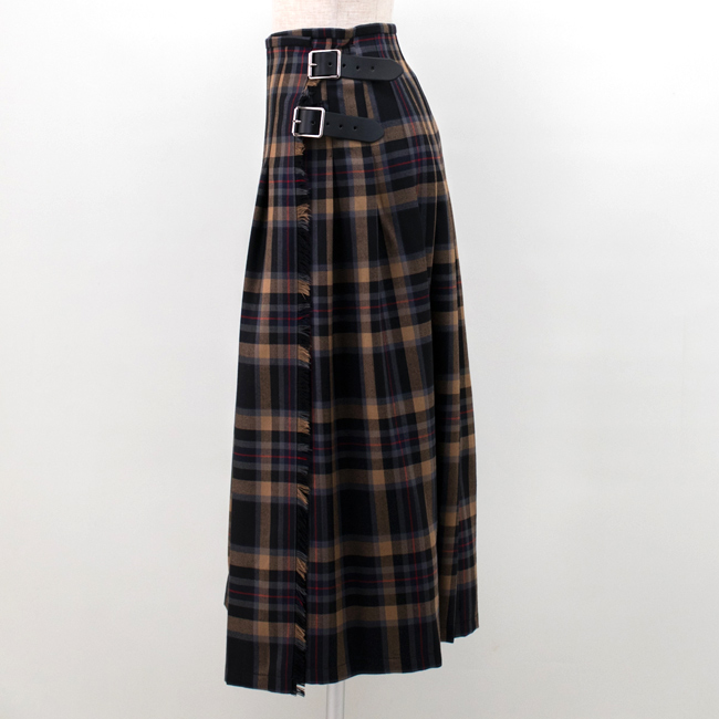 O'NEIL OF DUBLIN オネイル/オニールオブダブリン レディース プリーツキルトロングスカート[NOD0853]【BASIC】