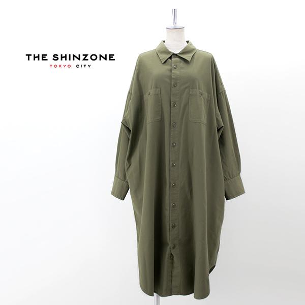 THE SHINZONE シンゾーン レディース MILITARY シャツワンピース[21MMSOP05]【2021FW】