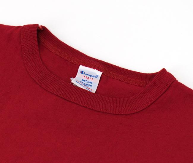 Champion チャンピオン メンズ T1011 クルーネックTシャツ[C5-P301]【BASIC】