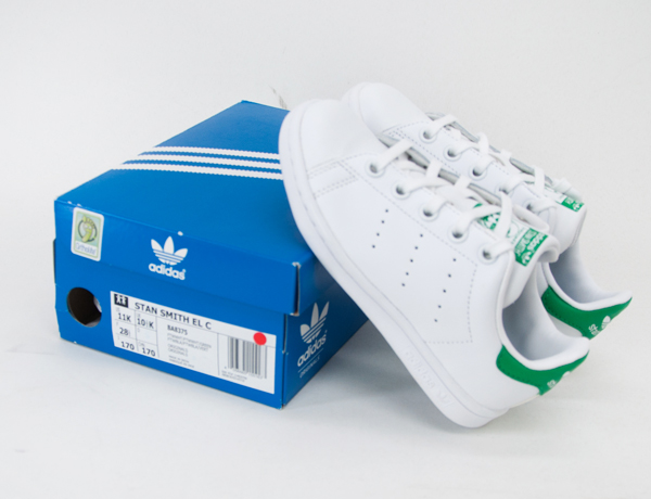 【SALE 20%OFF】adidas アディダス キッズ オリジナルス スタンスミス[BA8375]【BASIC】【返品交換不可】