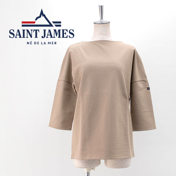 【SOLDOUT】SAINT JAMES セントジェームス レディース ボートネックドロップショルダーカットソー[17JCCRAZ SLOU U]【BASIC】