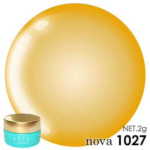 1027 ella BY SHINYGEL nova カラージェル 2g