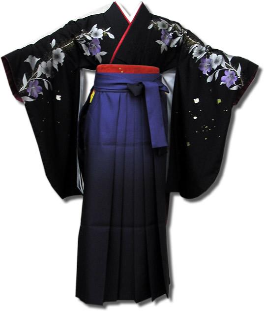 |送料無料|卒業式レンタル袴フルセット-534