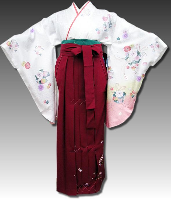 |送料無料|卒業式レンタル袴フルセット-535