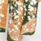 【成人式】 [安心の長期間レンタル]【対応身長155cm〜170cm】【正絹】レンタル振袖フルセット-255|花柄|レトロ|クール系|定番|古典|緑系|
