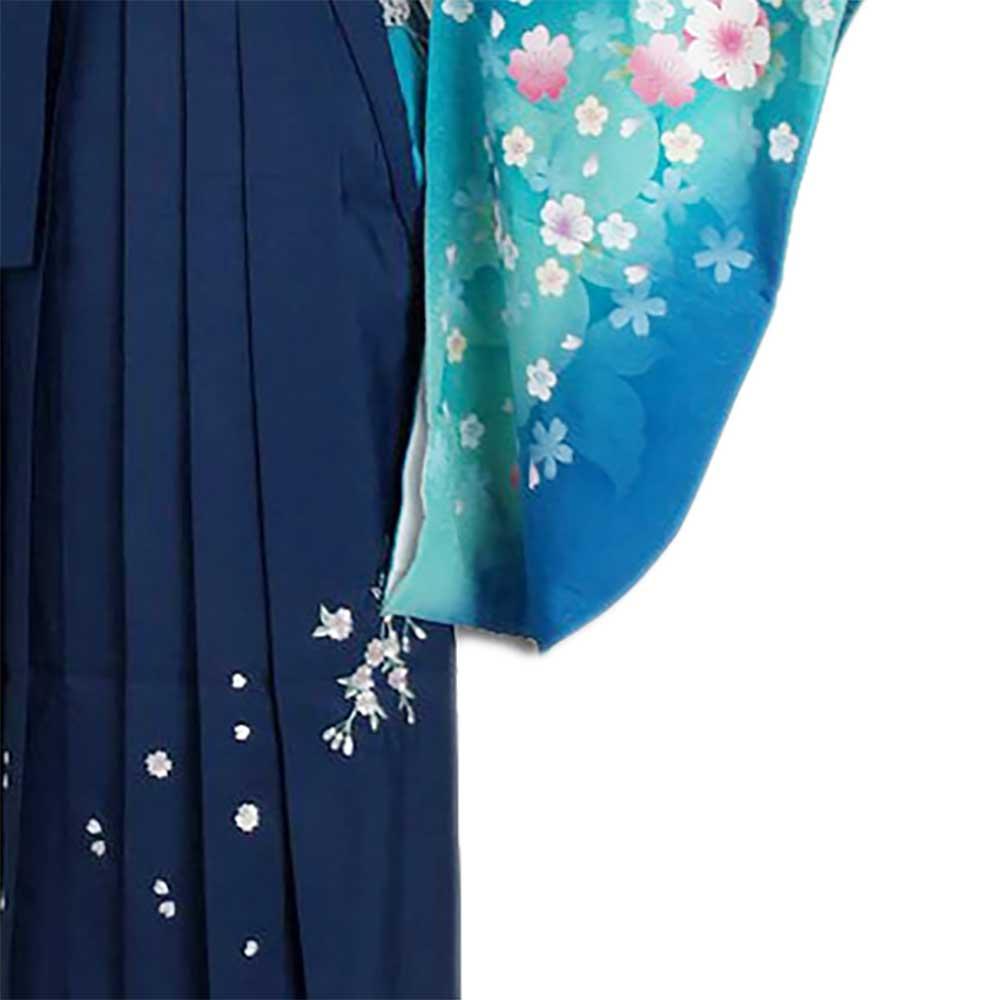 |送料無料|卒業式レンタル袴フルセット-795