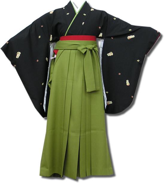 |送料無料|卒業式レンタル袴フルセット-538