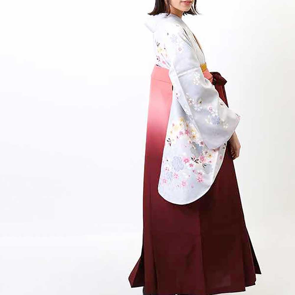 【h】|送料無料|卒業式レンタル袴フルセット-660