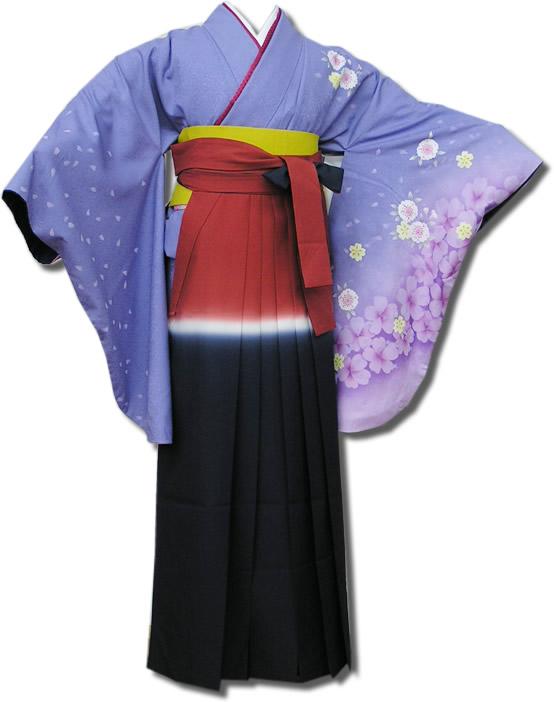 |送料無料|卒業式レンタル袴フルセット-541