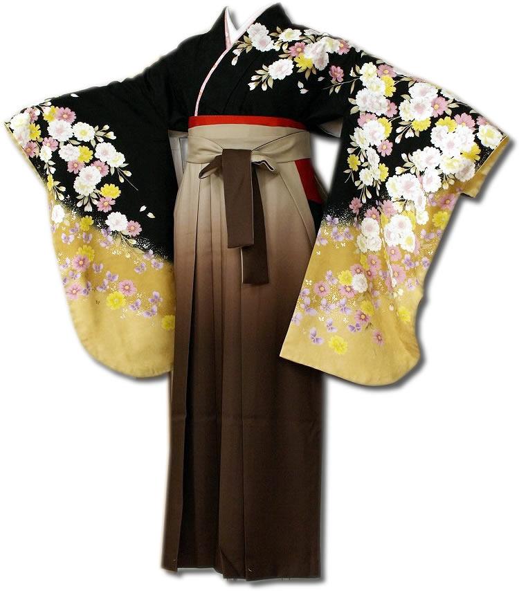 |送料無料|卒業式レンタル袴フルセット-661