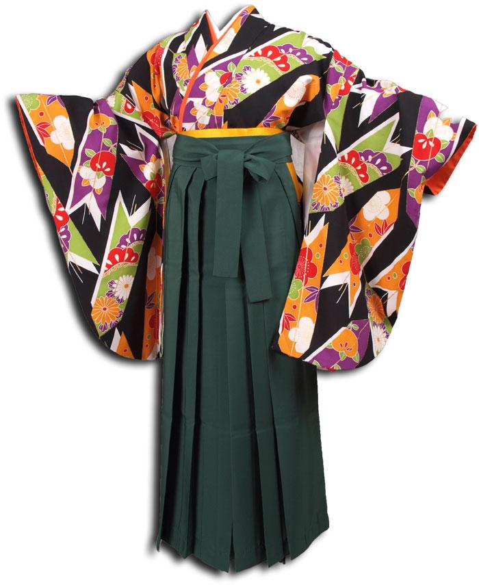 |送料無料|卒業式レンタル袴フルセット-1120
