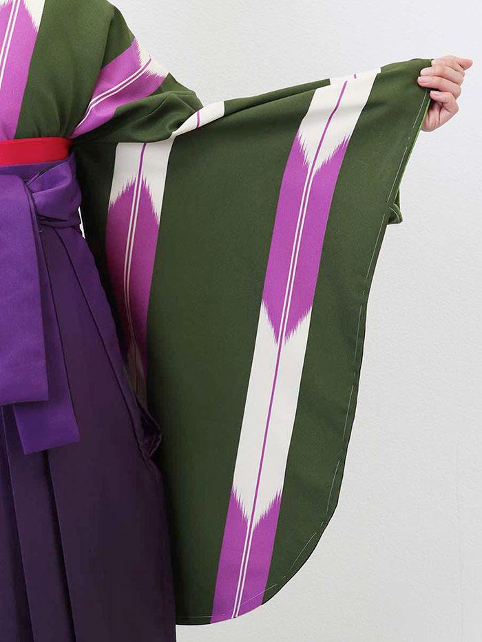 【h】|送料無料|卒業式レンタル袴フルセット-1332
