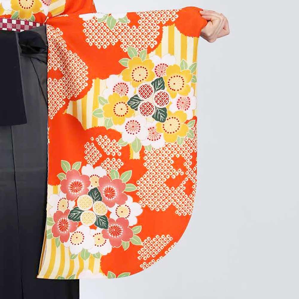【h】|送料無料|卒業式レンタル袴フルセット-1806