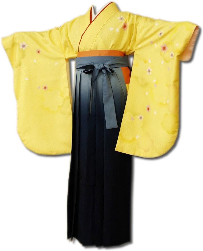 |送料無料|卒業式レンタル袴フルセット-671