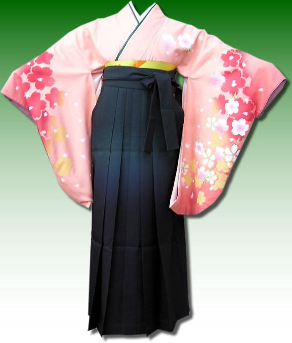 |送料無料|卒業式レンタル袴フルセット-551