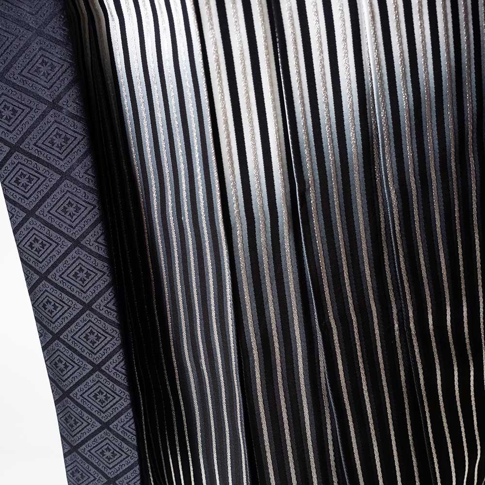 |送料無料|【成人式・卒業式】【成人式・卒業式】男性用レンタル紋付き袴フルセット-7413