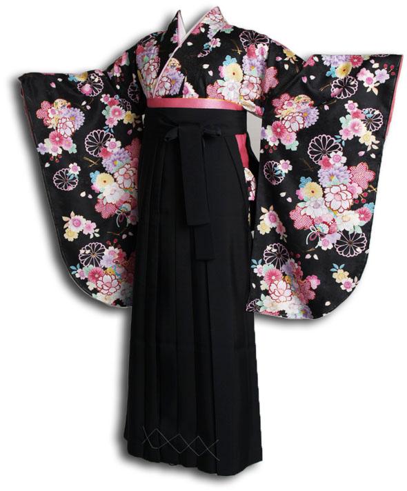 |送料無料|卒業式レンタル袴フルセット-919