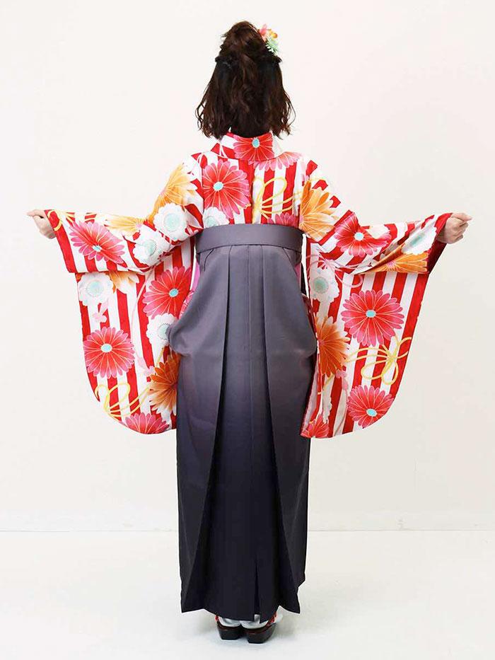 【h】|送料無料|卒業式レンタル袴フルセット-1336