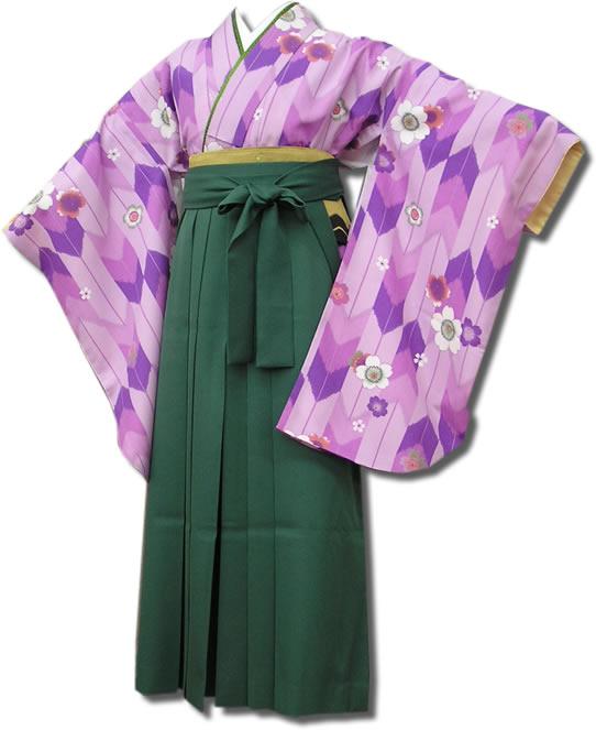 |送料無料|卒業式レンタル袴フルセット-553