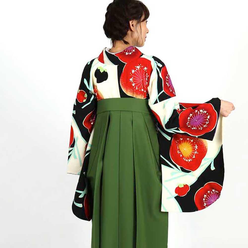 【h】|送料無料|卒業式レンタル袴フルセット-1810