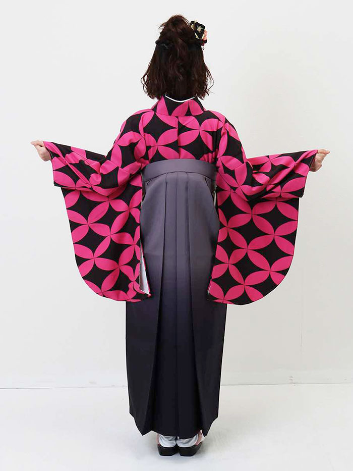 |送料無料|卒業式レンタル袴フルセット-1338