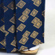 |送料無料|【成人式・卒業式】男性用レンタル紋付き袴フルセット-7120|青|白青織田瓜ぼかし袴|