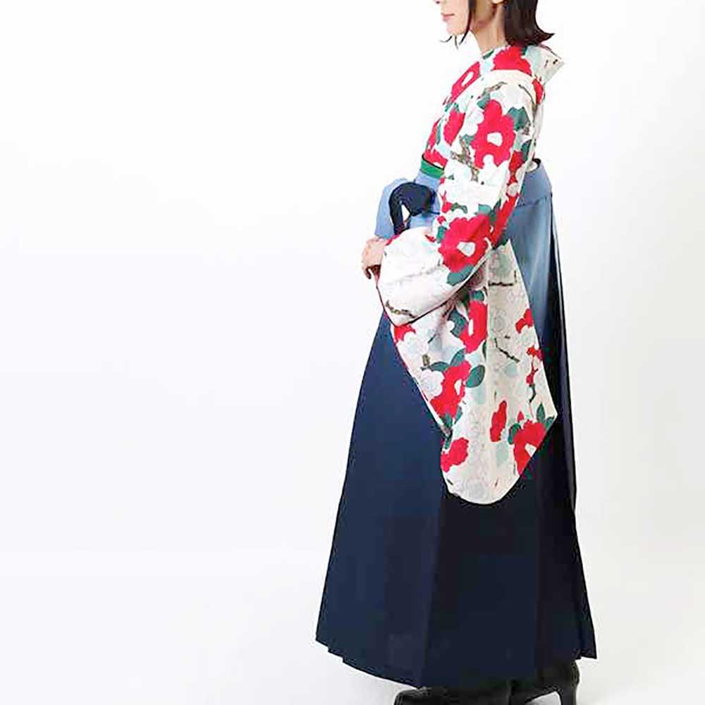 【h】|送料無料|卒業式レンタル袴フルセット-922